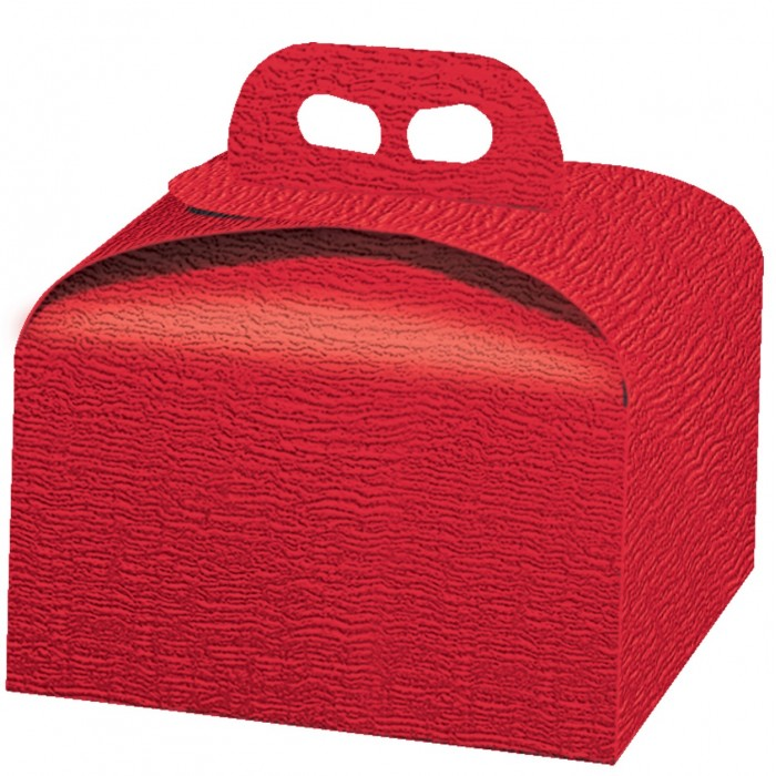 Scatola porta panettone ardesia rosso cartamea - Scatole porta panettone ...