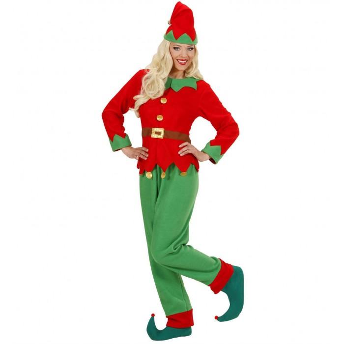 Aiutante Di Babbo Natale.Vestito Elfo Donna Aiutante Di Babbo Natale Widmann Cartamea