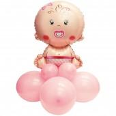 PALLONCINI MINI KIT BABY GIRL CM. 90 PEGASO