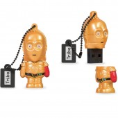 CHIAVETTA USB 16 GB STAR WARS C3PO RED ARM MAIKII