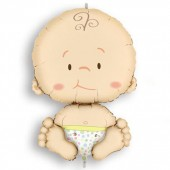 PALLONCINO IN MYLAR BABY H 80X52 CM. MAGIC-PARTY