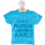 DILLO CON...MINI T-SHIRT FRATELLO