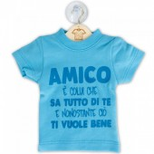 DILLO CON...MINI T-SHIRT AMICO