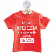 DILLO CON...MINI T-SHIRT AMICIZIA