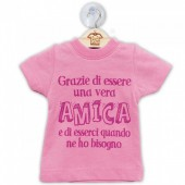 DILLO CON...MINI T-SHIRT AMICA