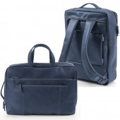 BORSA ZAINO BI-BAG ECOPELLE 42X28X14 InTempo