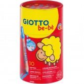 BARATTOLO 10 PASTELLI GIOTTO BE-BE' FILA