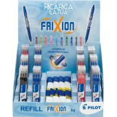EXPO 72 SET 3 REFILL FRIXION 0,7 + 36 GOMME REMOVER PILOT