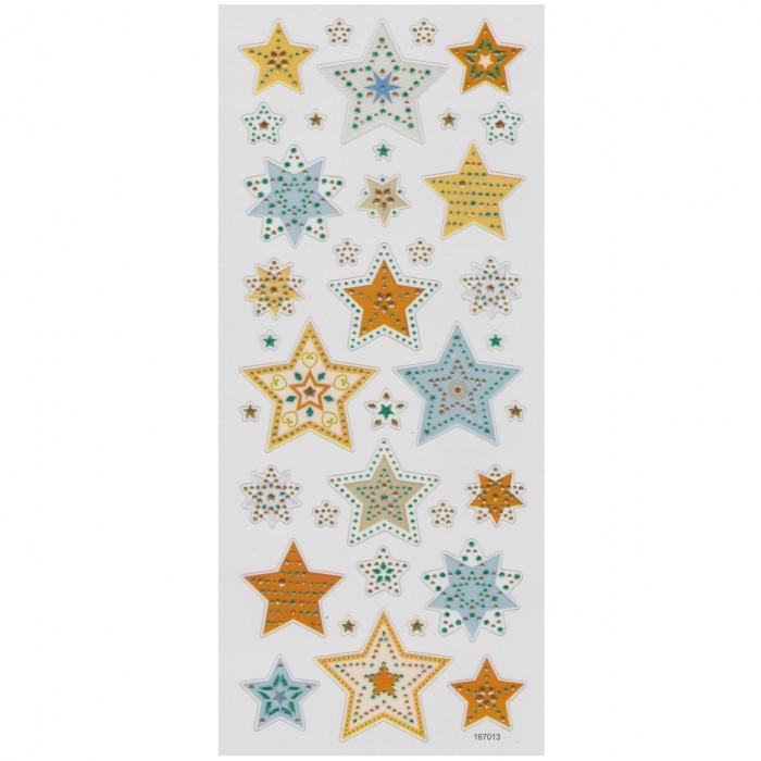 AVERY Zweckform 54171 Decorazioni floreali in carta con brillantini 2 fogli 28 adesivi