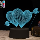LAMPADA A LED 3D I-TOTAL