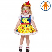 COSTUME CLOWN GIRL CON MINI CAPPELLO WIDMANN