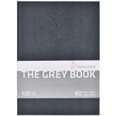 BLOCCO SCHIZZI THE GREY BOOK 40 FOGLI GRIGIO CHIARO 120 GR. A4 HAHNEMUHLE