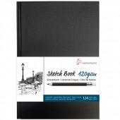 BLOCCO SCHIZZI SKETCH BOOK 64 FOGLI BIANCO NATURALE 120 GR. A5 HAHNEMUHLE