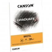 BLOCCO DISEGNO GRADUATE BRISTOL 20 FOGLI 180 GR. CANSON