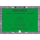 BLOCCO DISEGNO ARTISTICO AQUARELLE 20 FOGLI BIANCO NATURALE GRANA FINE GR. 300 ARCHES