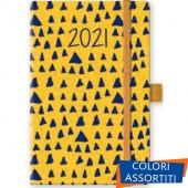 AGENDA GIORNALIERA 13X21 S/D ABBINATI CHIUSURA ELASTICO ABSTRACT 2021 CANGINI FILIPPI