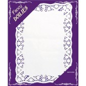 SOTTOTORTA IN PIZZO BIANCO cm.25,5x37 conf.12 pz. GIVI