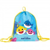 SACCA COULISSE MULTIUSO BABY SHARK FAMILY