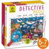 BABY DETECTIVE PUZZLE CON LENTE DI INGRANDIMENTO 108 PEZZI 50X70 LUDATTICA