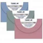 CARTELLA PORTADISEGNI IN PPL CON CHIUSURA 27X35 ( A4 ) CANSON