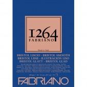 BLOCCO DISEGNO 1264 ILLUSTRAZIONE GRANA LISCIA 50 FOGLI GR. 200 FABRIANO